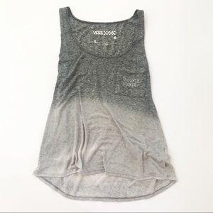 Vans Tank Top Shirt Ombré Summer size Medium